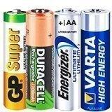 Пальчиковые батарейки AA типа