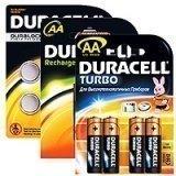 Аккумуляторные батареи Duracell