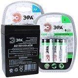 Аккумуляторные батареи ЭРА