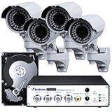Комплект IP-видеонаблюдения на базе ip-серверов