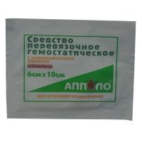 Фото Средство перевязочное гемостатическое стерильное с аминокапроновой кислотой 6х10