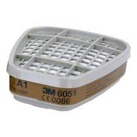 Купить Сменный патрон 3M 6051 А1 от органических паров в