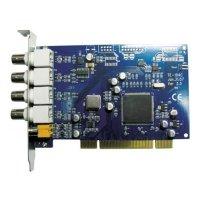 Фото Плата видеозахвата Линия SKW 4x8 PCI на 4 камеры
