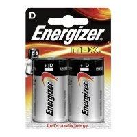 Фото Energizer LR20-2BL MAX (2/24/2880)