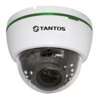 Купить Купольная AHD видеокамера Tantos TSc-Di1080pUVCv (2.8-12) в