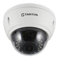 Купить Купольная AHD видеокамера Tantos TSc-Vi1080pUVCv (2.8-12) в