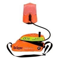 Фото Самоспасатель со сжатым воздухом с капюшоном Drager Saver CF 15