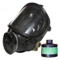 Фото Промышленный противогаз ППФ-95 (м.К2) с 1 маской ППМ-88