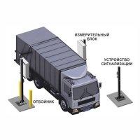 Купить Транспортный радиационный монитор на базе СРК-АТ2327 с 4-мя блоками детектирования БДКГ-11/1 в