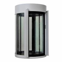 Фото Шлюзовая кабина Блокпост КБЦ-900 (RAL 7038) (стекло 22 мм)