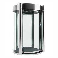 Купить Шлюзовая кабина Блокпост КБЦ-900 (нерж. сталь) (стекло 27 мм) в