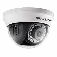 Фото Купольная видеокамера Hikvision DS-2CE56C0T-IRMM