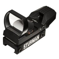 Купить Оптический прицел Sturman OPEN (Weaver - 21mm) с двухцветной маркой в