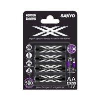 Купить Sanyo Eneloop XX HR-3UWX-4BP в