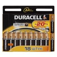 Купить Duracell LR6-18BL BASIC NEW (18/180/23940) в