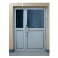 Фото Блок дверной из алюминиевого профиля