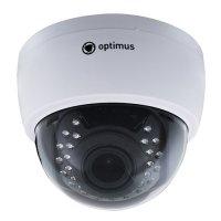 Купить Купольная IP-камера Optimus IP-E022.1 (2.8-12) AP в