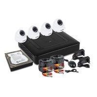 Купить Комплект PROconnect, 4 внутренние камеры AHD-M, с HDD 1Tб в