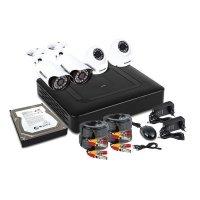 Купить Комплект PROconnect, 2 внутренние, 2 наружные камеры AHD-M, с HDD 1Tб в