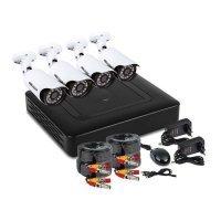 Купить Комплект PROconnect, 4 наружные камеры AHD-M, без HDD в