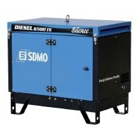 Купить Дизель генератор SDMO Diesel 6500 TE Silence в