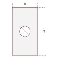 Купить Наклейка для датчика систем защиты на стеллажах 26x50 мм в