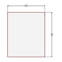 Купить Наклейка для датчика систем защиты на стеллажах 25x30 мм в