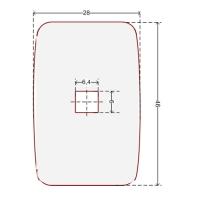 Купить Наклейка для датчика систем защиты на стеллажах 28x46 мм в