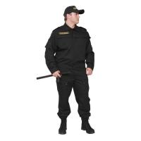 Купить Костюм охранника арт. КО-3-ГБР мужской ткань Грета в