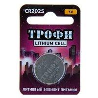 Купить Трофи CR2025-1BL (10/240/38400) в