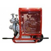 Купить Мотопомпа пожарная «Гейзер» МП 10/60 Д переносная (с дизельным приводом) в