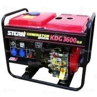 Купить Дизельный генератор (электростанция) KDG3600 CLE в