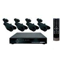 Купить комплект видеонаблюдения СТК-U04 - 4 наружные камеры (без жесткого диска) в