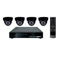 Купить комплект видеонаблюдения СТК-I04- 4 внутренние камеры (без жесткого диска) в