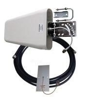 Купить Комплект антенн для модема 800-2700МГц (GSM, DCS, WiFi, 3G, LTE, антенны 2 шт и кабель 10м) в