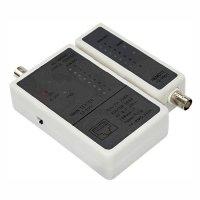 Купить Тестер кабеля Rexant RJ-45 + BNC (HT-C003) (TL-5248) в