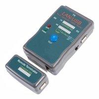 Купить Тестер кабеля Rexant RJ-45+USB (HY-251454CT) в