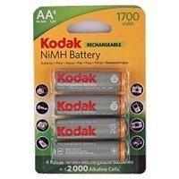 Купить Kodak HR6-4BL 1700mAh  [KAAHR-4] (80/640) в