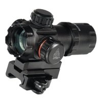 Фото Коллиматорный прицел Leapers UTG 3.9″ ITA Red/Green Dot Sight c Riser Adaptor SCP-DS3039W