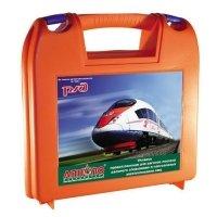Фото Укладка первой помощи для вагонов поездов дальнего следования и пригородных электропоездов  РЖД (в пластиковом чемоданчике)