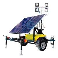 Купить Передвижная осветительная установка на солнечных батареях ПОУ 4*50LED -6.0М-SB в