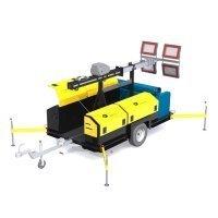 Купить Передвижная осветительная   установка ПОУ 4*240LED-12T в