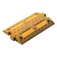 Купить Элемент проходной ИДН300 средний желтый в