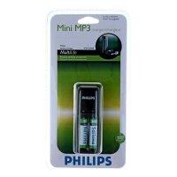 Купить Philips Mini MP3 SCB1225 + 2 ААА 800 mAh (4/448) в
