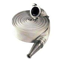 Купить Рукав пожарный  РПК(В)- Н/В-65-1,0-М-УХЛ1 (20±1м) с ГР-65пл и стволом РС-70,01пл в