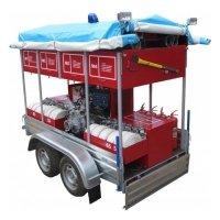 Фото Мобильный комплекс пожаротушения и проведения аварийно-спасательных работ «Форпост-03»
