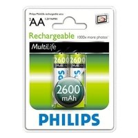 Фото Philips HR6-2BL 2600 mAh  [R6B2A260/10] (2/24/10800)