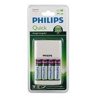 Купить Philips Quick Charger [SCB2491WB/12] + 4AA RTUx2000 mAh with micro USB port (4/648) в