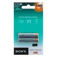 Фото Sony HR03-2BL 1000 mAh [NHAAAB2F] (20/120/13440)