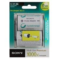 Фото Sony HR6-2BL 2100mAh + D-size adaptor [NHAAB2KX2D] (20/60)